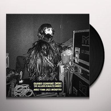 Tre Allegri Ragazzi Morti QUANDO ERAVAMO SWING Vinyl Record