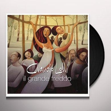 Claudio Lolli IL GRANDE FREDDO Vinyl Record
