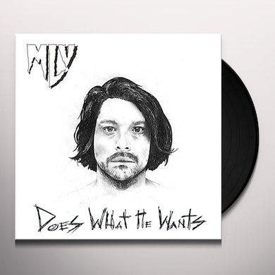 Matthew Logan Vasquez DOES WHAT HE WANTS Vinyl Record