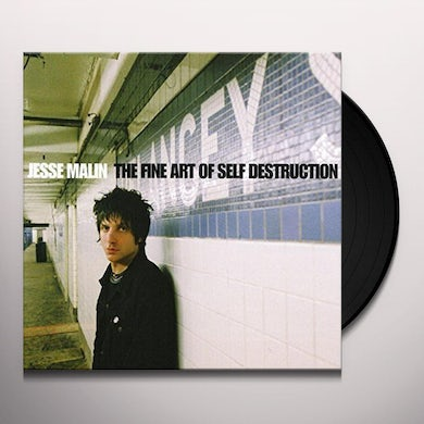 Jesse Malin FINE ART OF SELF: DIRECT METAL MASTER Vinyl Record