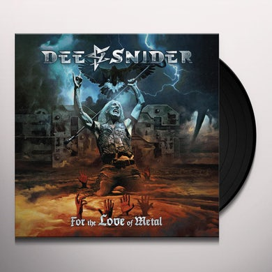 Dee Snider FOR THE LOVE OF METAL Vinyl Record