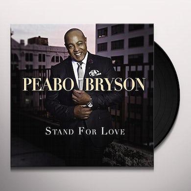 Peabo Bryson STAND FOR LOVE Vinyl Record