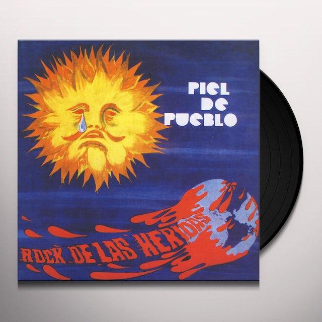 Piel De Pueblo ROCK DE LAS HERIDAS Vinyl Record