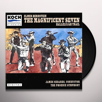 Elmer Bernstein MAGNIFICENT SEVEN: COMPLETE / Original Soundtrack Vinyl Record