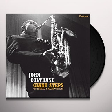 John Coltrane  GIANT STEPS: STEREO & MONO VERSIONS Vinyl Record