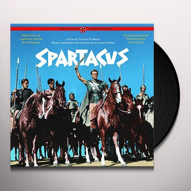 Alex North SPARTACUS - Original Soundtrack Vinyl Record