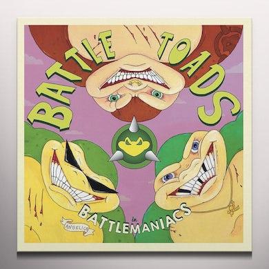 David Wise BATTLETOADS IN BATTLEMANIACS / Original Soundtrack - Colored Vinyl Record