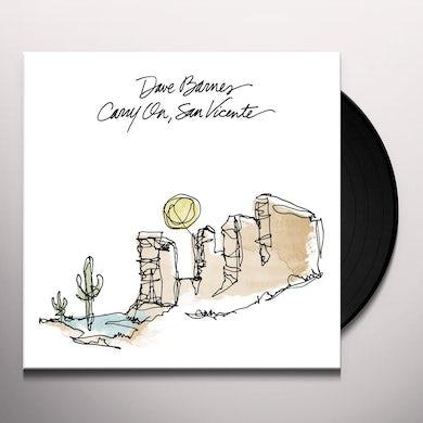 Dave Barnes CARRY ON SAN VICENTE Vinyl Record