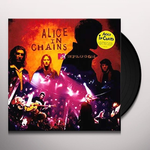 Alice In Chains MTV UNPLUGGED Vinyl Record