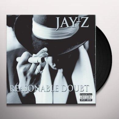 Jay Z REASONABLE DOUBT Vinyl Record