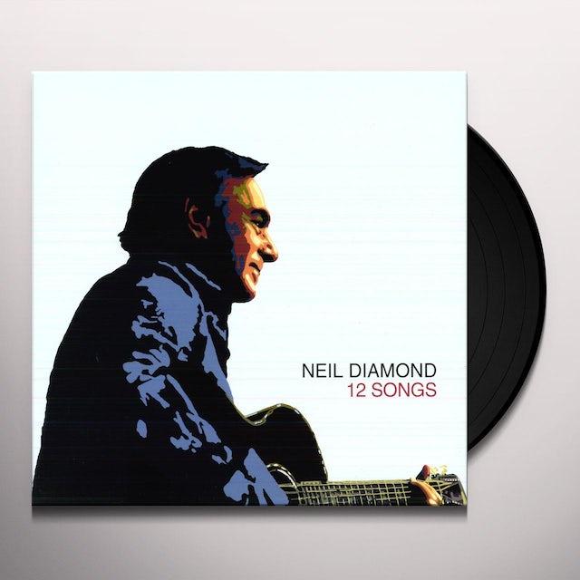 Neil Diamond 12 SONGS Vinyl Record - Holland Release