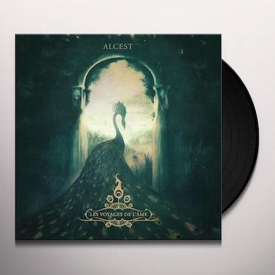 Alcest LES VOYAGES DE L'AME (RED VINYL) Vinyl Record