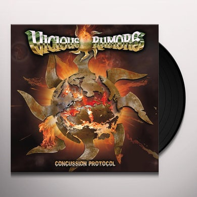 Vicious Rumors CONCUSSION PROTOCOL Vinyl Record
