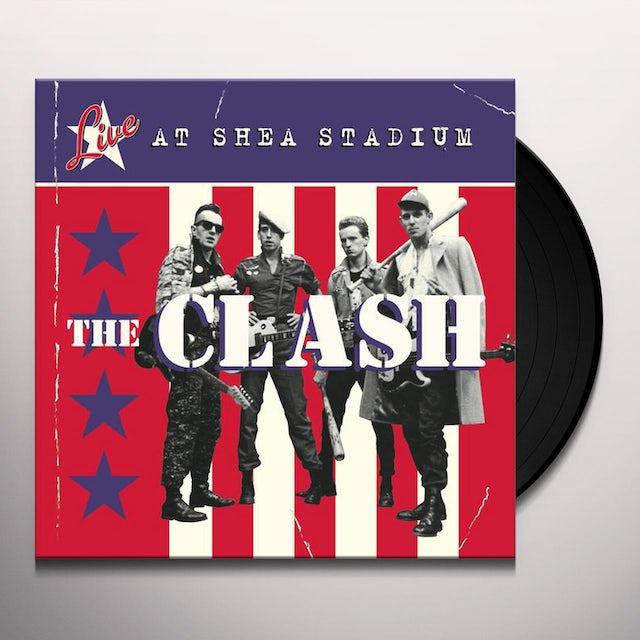 The Clash LIVE AT SHEA STADIUM Vinyl Record