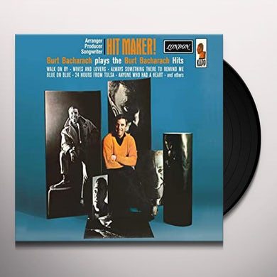 Burt Bacharach HIT MAKER Vinyl Record