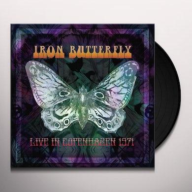 Iron Butterfly LIVE IN COPENHAGEN Vinyl Record