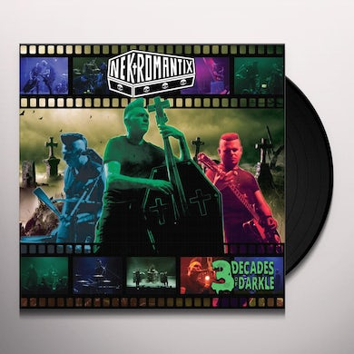 Nekromantix 3 DECADES OF DARKLE Vinyl Record