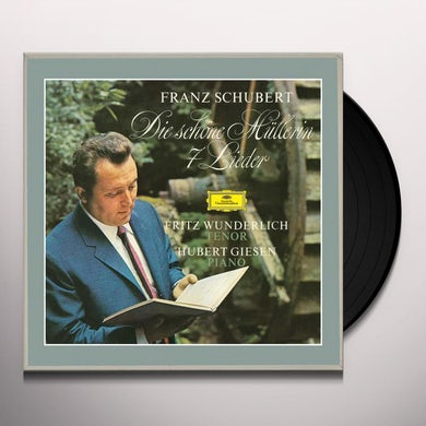 SCHUBERT / WUNDERLICH / GIESEN DIE SCHONE MULLERIN / 7 LIEDER Vinyl Record