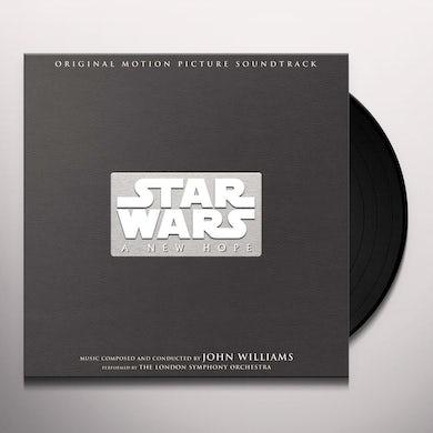 John Williams Star Wars: A New Hope (3 LP, 3D Death Star Hologram Box Set) Vinyl Record