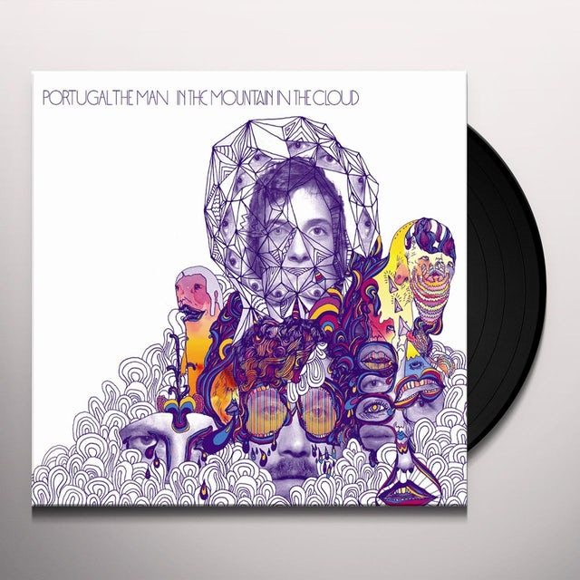 Portugal. The Man IN THE MOUNTAIN IN THE CLOUD Vinyl Record