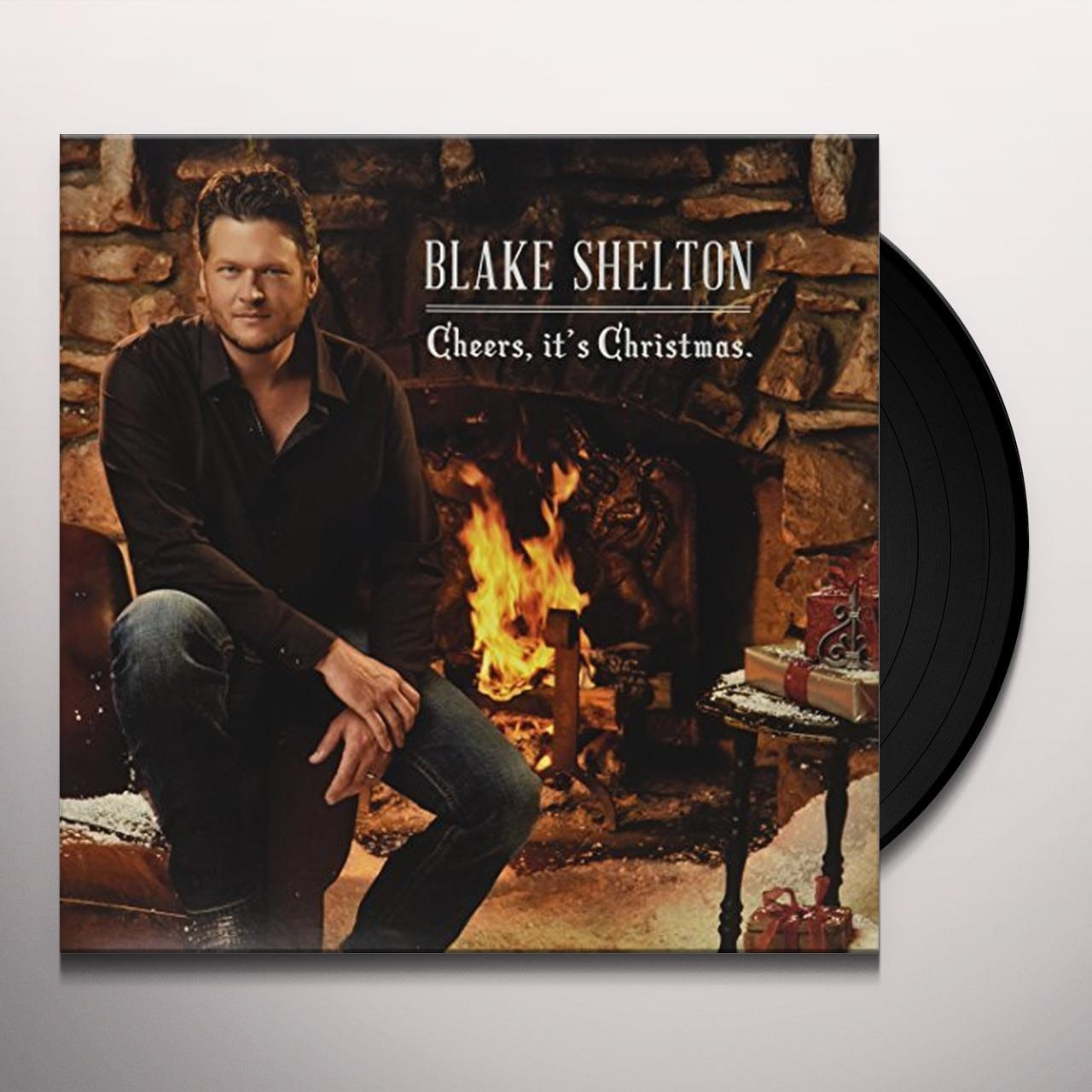 Blake Shelton Cheers Its Christmas.Blake Shelton Cheers It S Christmas Vinyl Record