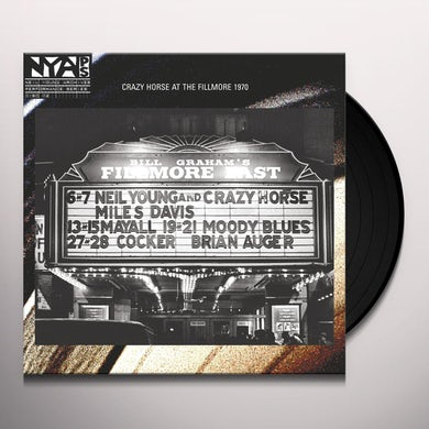 Neil Young & Crazy Horse LIVE AT THE FILLMORE EAST Vinyl Record