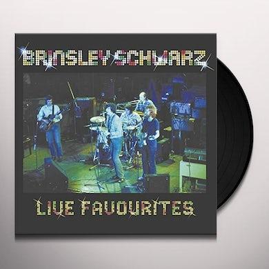 Brinsley Schwarz LIVE FAVOURITES Vinyl Record