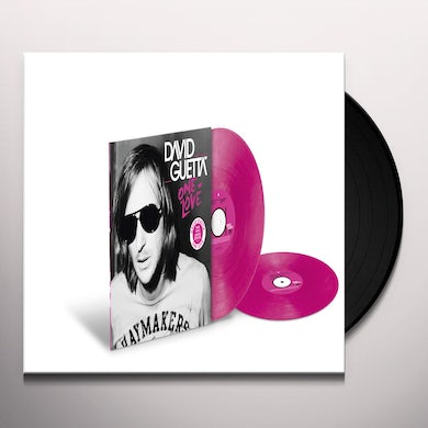 David Guetta ONE LOVE Vinyl Record