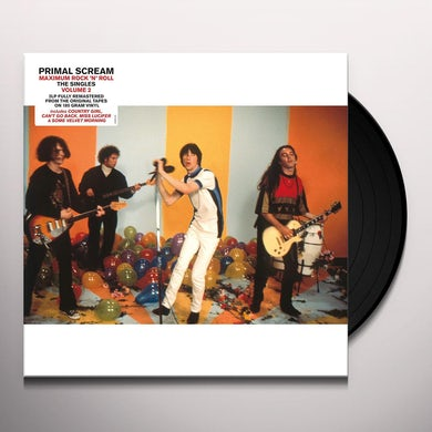 Primal Scream MAXIMUM ROCK N ROLL: THE SINGLES VOL 2 Vinyl Record