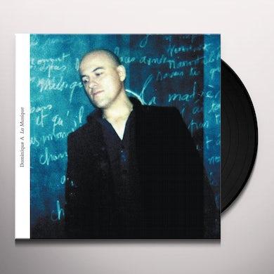 Dominique A LA MUSIQUE Vinyl Record