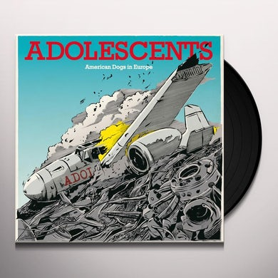 Adolescents AMERICAN DOGS IN EUROPE Vinyl Record