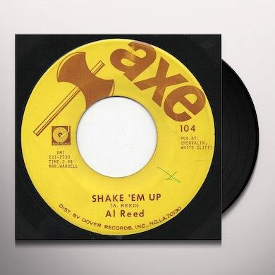Al Reed SHAKE EM UP Vinyl Record