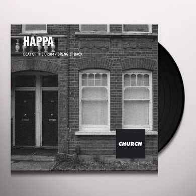 Happa BEAT OF THE DRUM Vinyl Record - UK Release