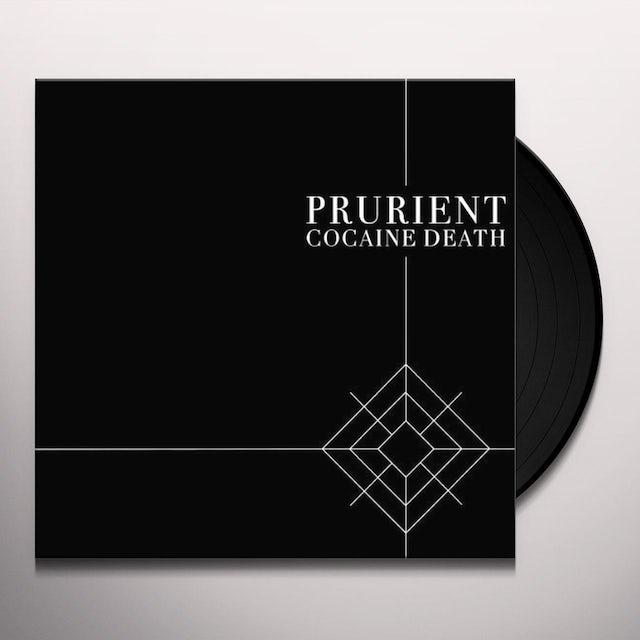 Prurient COCAINE DEATH Vinyl Record