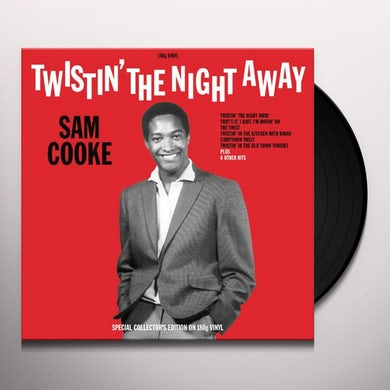 Sam Cooke TWISTIN' THE NIGHT AWAY Vinyl Record - UK Release