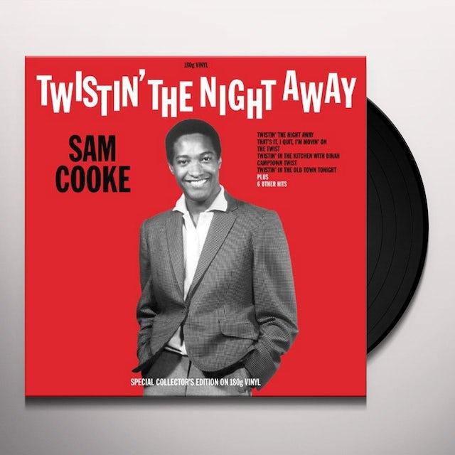 Sam Cooke TWISTIN' THE NIGHT AWAY Vinyl Record - UK Release