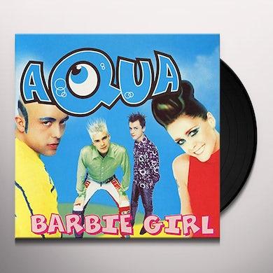 Aqua BARBIE GIRL Vinyl Record