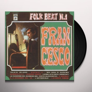 Francesco Guccini FOLK BEAT 1 Vinyl Record