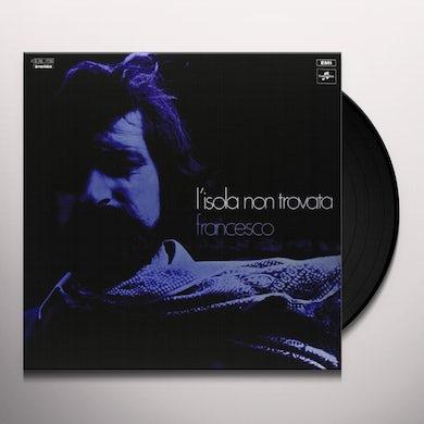 Francesco Guccini L'ISOLA NON TROVATA Vinyl Record