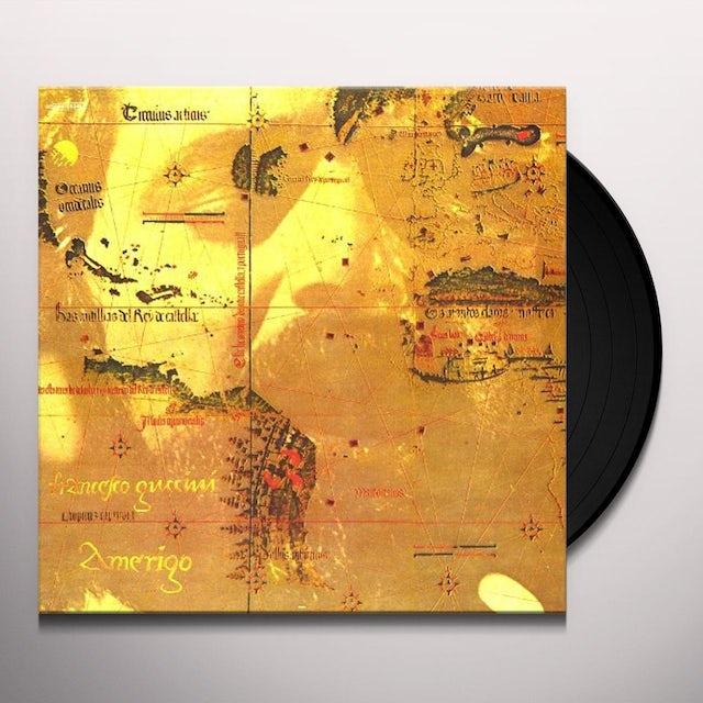Francesco Guccini AMERIGO Vinyl Record