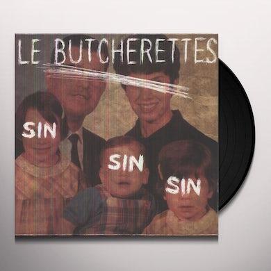 Le Butcherettes SIN SIN SIN Vinyl Record