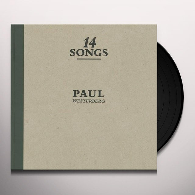 Paul Westerberg 14 SONGS Vinyl Record