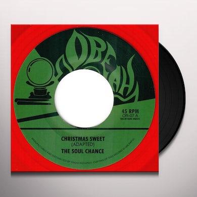 Soul Chance CHRISTMAS SWEET / SWEET DUB 45 Vinyl Record