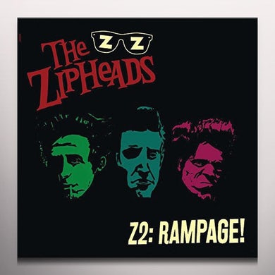 ZIPHEADS Z2: RAMPAGE (MAGENTA VINYL) Vinyl Record