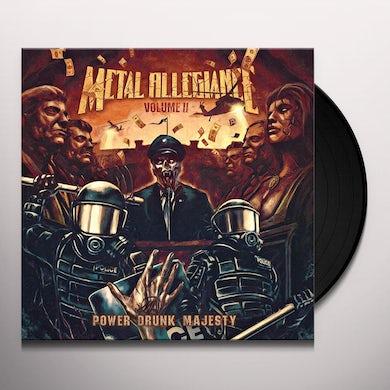 Metal Allegiance VOLUME II: POWER DRUNK MAJESTY Vinyl Record