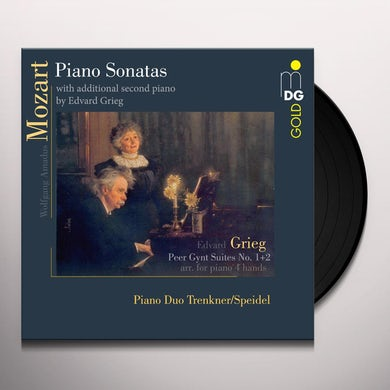 Evelinde Trenkner MOZART PIANO SONATAS & GRIEG PEER GYNT SUITES Vinyl Record
