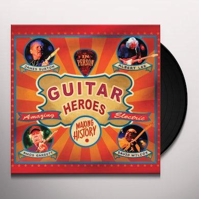 James Burton Guitar Heroes Vinyl Record