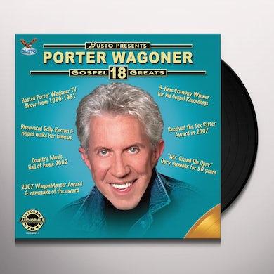 Porter Wagoner GOSPEL 18 GREATS Vinyl Record