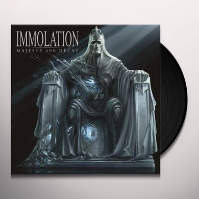 Immolation MAJESTY AND DECAY Vinyl Record