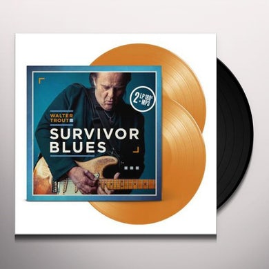 Walter Trout SURVIVOR BLUES Vinyl Record